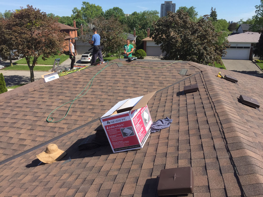 Toronto Roofing Contractor - Roof Replacement Company - Install-Repair