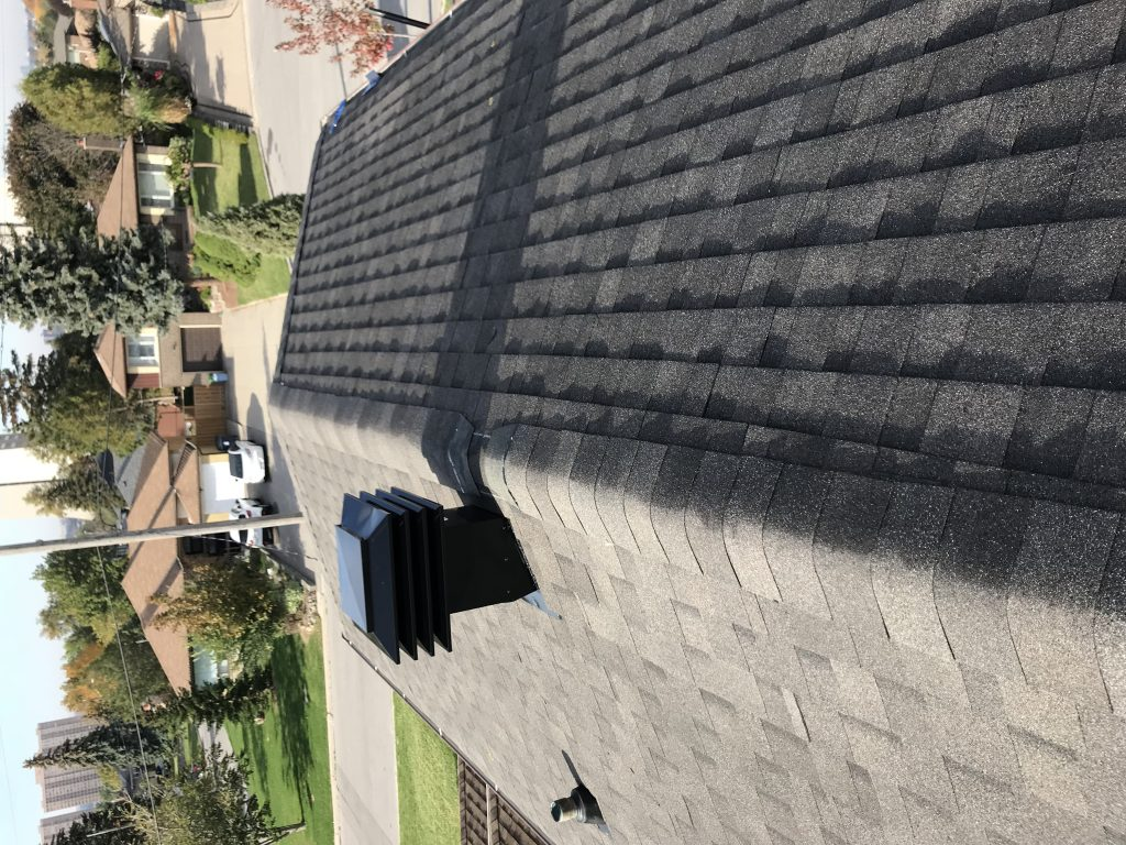 shingle re-roofing