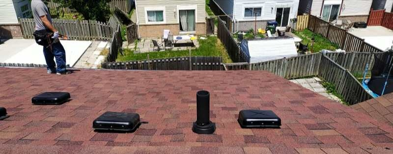 Residential Roofing project in Etobicoke