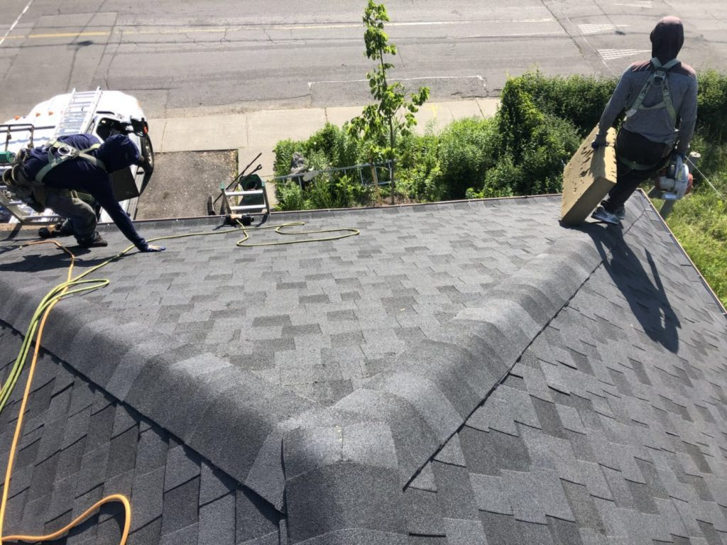 Residential Roofing project in Newmarket