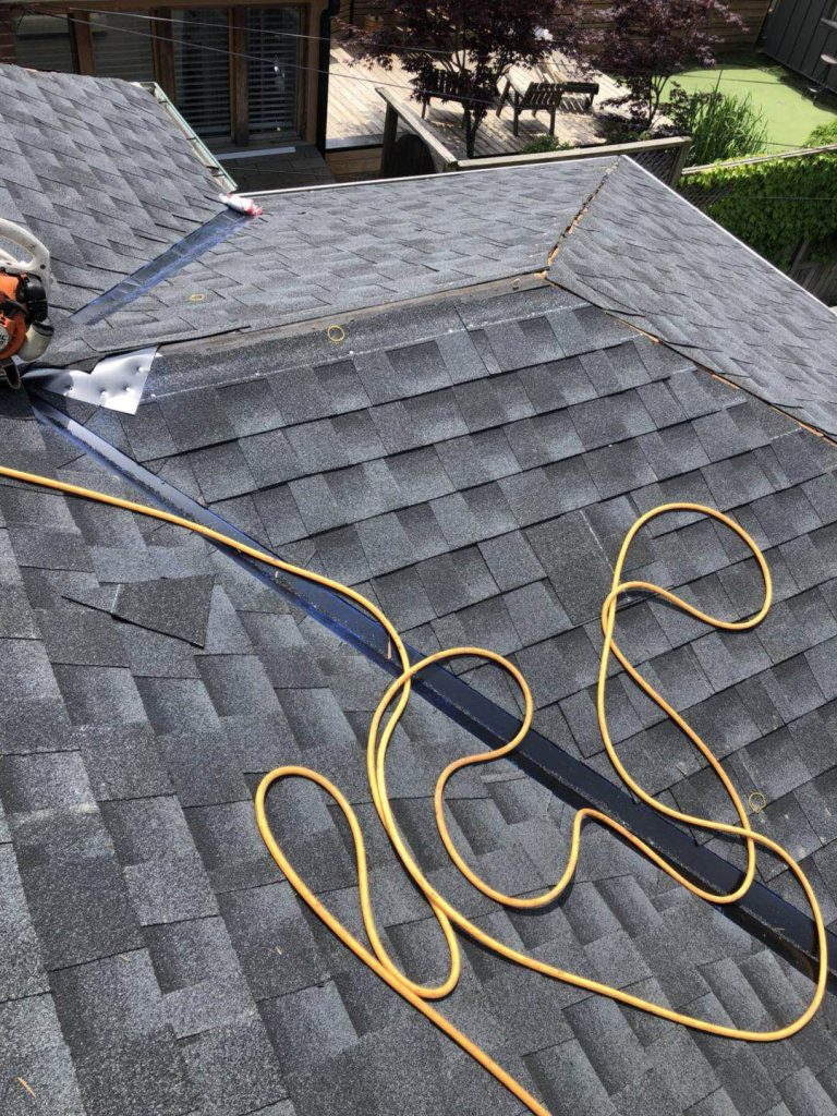 Residential Roofing project in Toronto